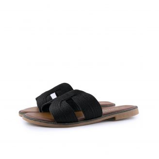 0288-0210 Love4shoes ΜΑΥΡΟ